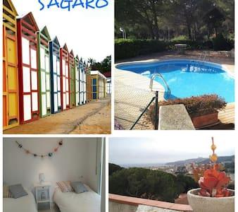 Casa/Piscina a S'Agaró-Platja d'aro - Castell-Platja d'Aro - Dom