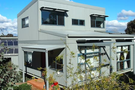 Sandstone Passive Solar house full of light - Bendigo