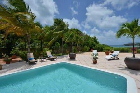 Tropical 4Bdrm Villa In St.Martin - Les Terres Basses - Villa