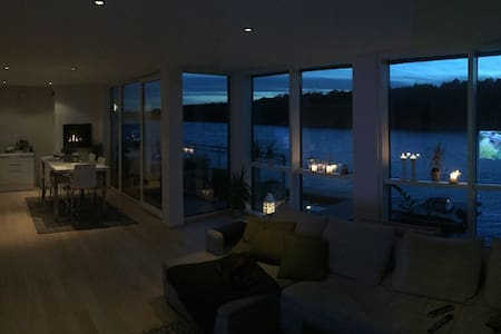 An uniqe apartment near by/on the sea! - Fredrikstad - Apartment