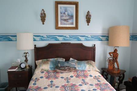 The Tappan House B&B Austin's Nautical Room - Szoba reggelivel
