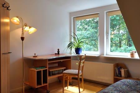 Schönes Doppelbettzimmer zum Arbeiten oder Relaxen - Kleinmachnow - Villa