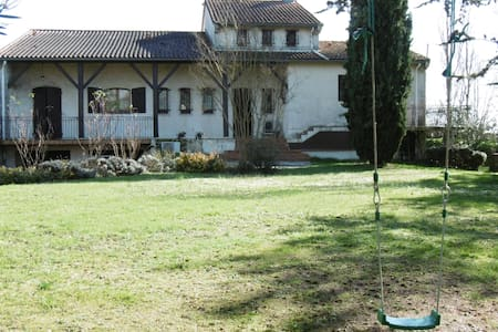 Maison avec piscine proche Toulouse - Rumah