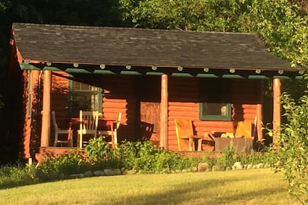 Authentic Adirondack Log Cabin w/ Ponies & Chicks - Cabanya