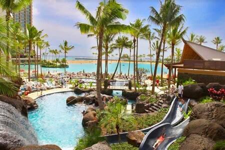 HILTON HAWAIIAN VILLAGE~steps to BEACH - Honolulu