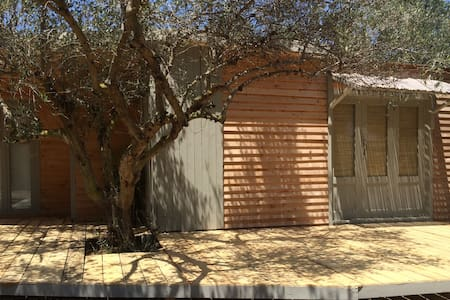 The Olive Shed..off-grid life amonst Olive Trees - Chania - Cottage
