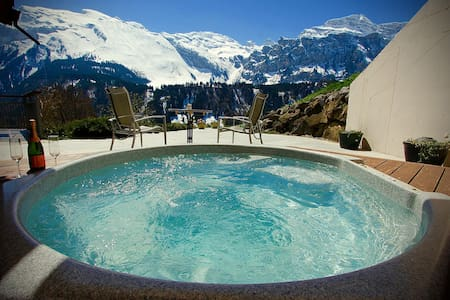 ALPHAVEN Apt. A   Hot Tub, Log Fire - Engelberg