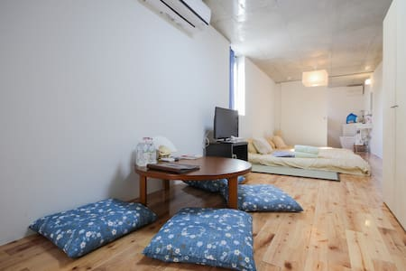 Open Sale Cozy Japanese Room 10 min walk from Ueno - Apartmen