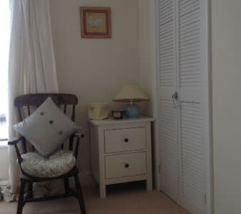 Cottage -open plan -twin room - Inap sarapan