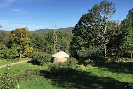 Backwoods Mountain Retreat Yurt - Yurt