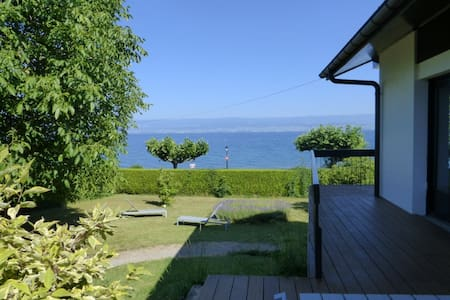 Beautiful Lake House Plage Corzent - Anthy-sur-Léman
