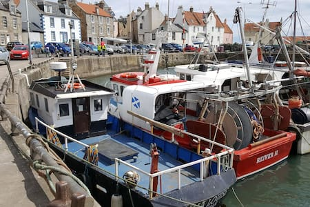 Harbour House, Pittenweem Harbour - Pittenweem - House