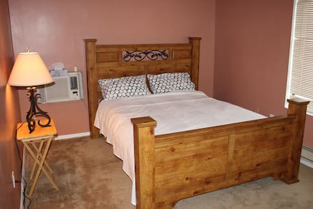 Comfy bed,friendly host,free parkin - Apartamento