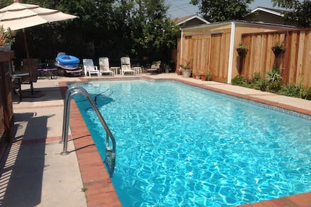 Relaxing home with private Pool near Disneyland! - La Mirada - Haus