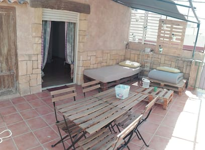 Beautiful apartment with terrace in the center - Wohnung