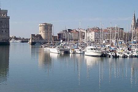 charmant T2  4/5 pers  vue sur le vieux port - La Rochelle