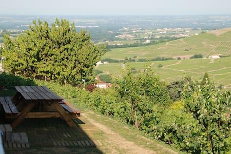 Grand gite dans le vignoble du Beaujolais - Vaux-en-Beaujolais - Hus