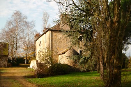 Private historic hunting lodge nr 24hr race - Fercé-sur-Sarthe