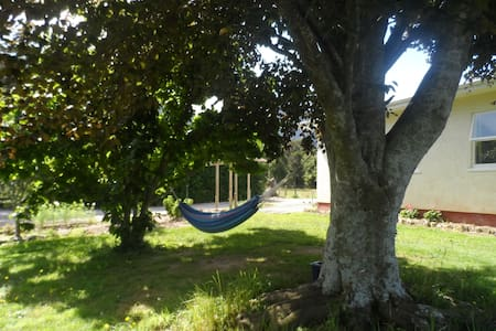 Farm Stay Sleepout Room/Ensuite - Collingwood - Bed & Breakfast