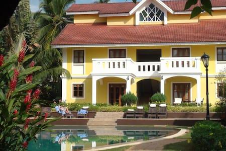 1 Bhk Peaceful  self cattering villa @ Betalbatim - Villa