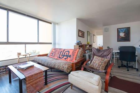 Modern, private bedroom near Lake Merritt - Oakland - Apartment