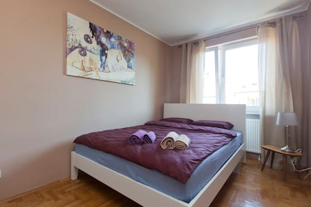 Cozy room for couple or one person. - Wrocław - Apartemen