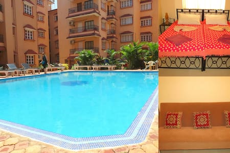 41) 1 Bedroom Apartment Calangute/Baga Sleeps 2-4 - Calangute