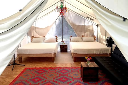 Happy Earth Farm - Glamping Tent - Aiken