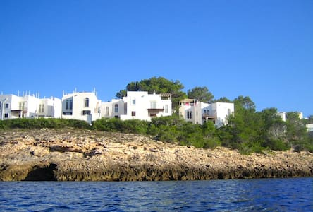 App.35A fantastic terrace & sea! - Cala Portinatx