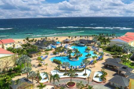 3 BR Oceanfront Villa, week 52, Marriott St. Kitts - Villa