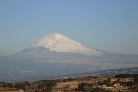 温泉風呂から富士山全景 - Kannami