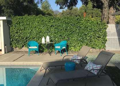 Pool, Modern Open-Concept Indoor/Outdoor Living - Ojai - House
