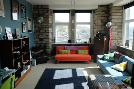 Artistic Mill Conversion Apartment - Huddersfield - Pis