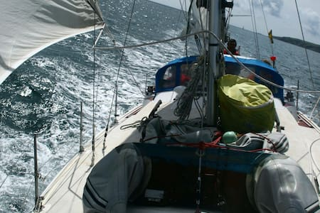 Welcome aboard  33 ft sailing yacht - Falmouth - Barca