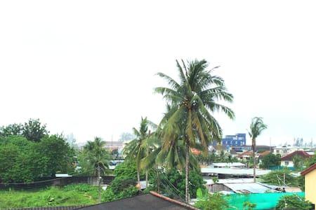New apartment/Close to the sea /Balcony +view (8) - Tambon Kammala - Appartamento