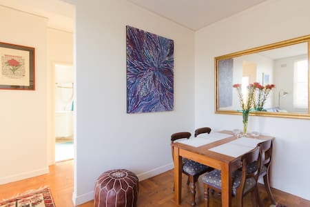 Sunny two bedroom flat on Manly's Eastern Hill - Apartamento