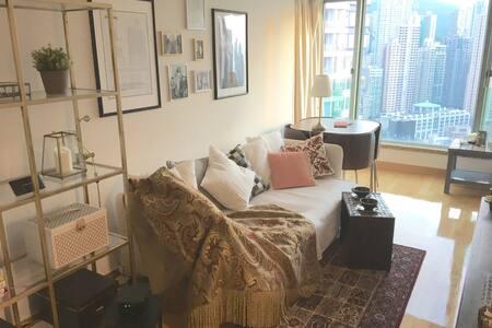 Bright, spacious high up sea view! - Apartment