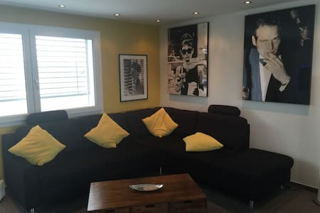 Zimmer in schöner Attika Wohnung - Merenschwand - Apartamento