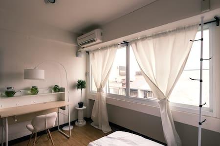 54公寓 Réunion ❮C❯ 小北成功夜市步行6min,最大同时10人可 交通便捷電視/WiFi - North District - Lägenhet
