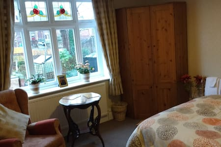 Charming Edwardian home double room - Sheffield - Casa