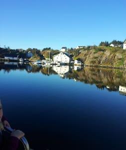 Vilt og utemmet  40 km fra Bergen. - Casa