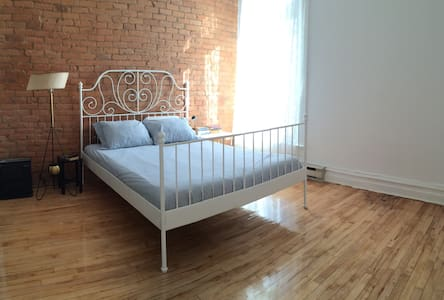 Huge Private Room - Lower Plateau - Montréal - Apartment