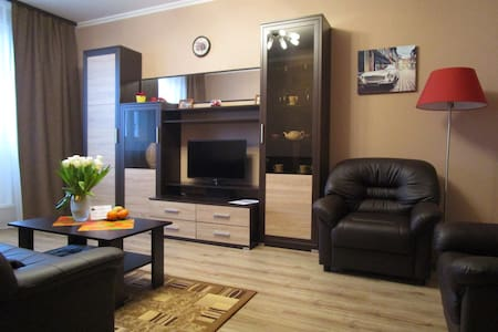 Апартаменты Caravan на Лодочной - Moskva - Daire