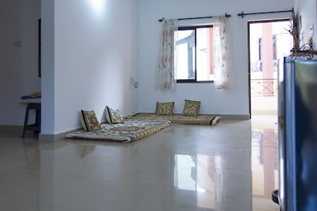 Holiday at our Spacious Apartment with a View, Goa - Apartment