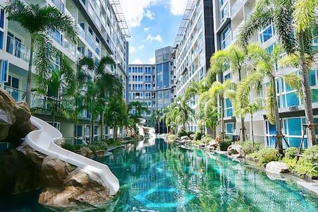 Spacious Modern Studio in Center of Pattaya - Muang Pattaya