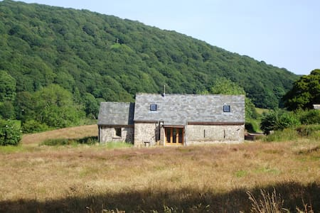 Beautiful 18th century barn on Sugar Loaf mountain - Monmouthshire - Casa