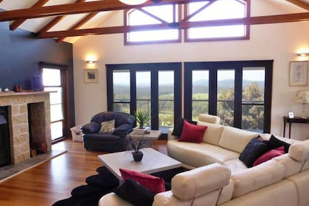 LUXURY home, 250 Acres with panoramic water views, - Minimbah - Hus