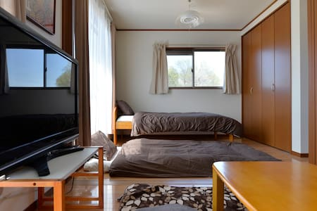 小江戸川越/Free WIFI/1BET&3FUTON/PARKING - Kawagoe-shi kasahata