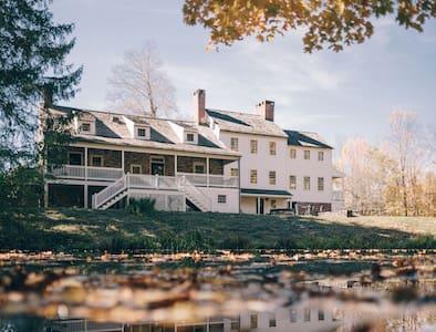 Rhinebeck 240 Acres Estate - Two Cozy Homes! - Staatsburg - Hus