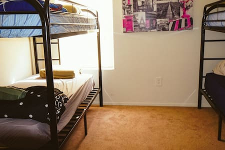 Bunk bed for rent in a comfortable apartment #1 - Orlando - Apartment